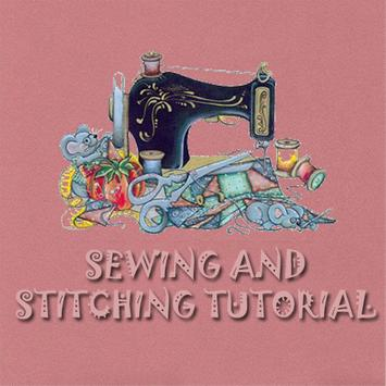 Sewing And Stitching Tutorial poster