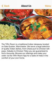 Indian Tiffin Room apk screenshot