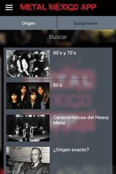 Metal México App screenshot 3