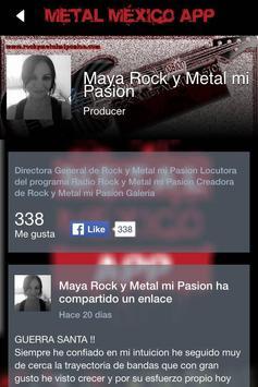 Metal México App poster