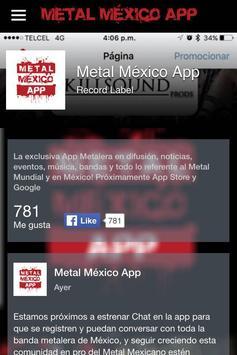 Metal México App screenshot 4