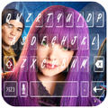 Descendants keyboard  (wallpapers and backgrounds)