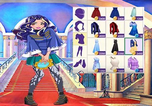 Descendants Dress Up Game poster