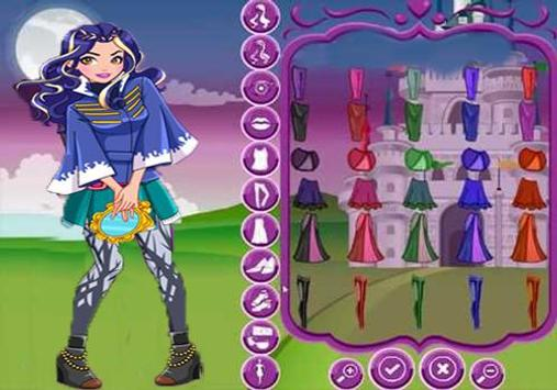 Descendants Dress Up Game apk screenshot