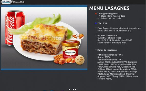 Pizza Presto Beynes screenshot 2
