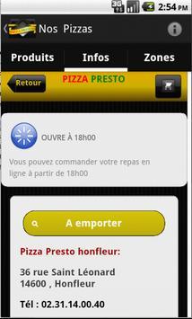 Pizza Presto Honfleur screenshot 1