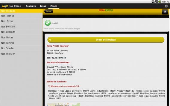 Pizza Presto Honfleur screenshot 5