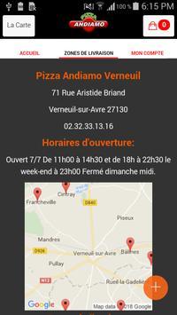 Pizza Andiamo Verneuil screenshot 3