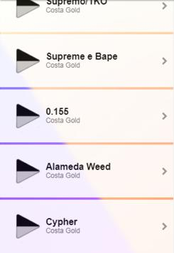 Costa Gold Musica screenshot 1