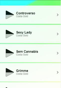 Costa Gold Musica screenshot 2
