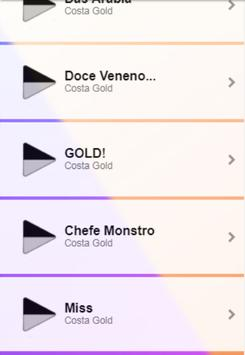 Costa Gold Musica screenshot 3