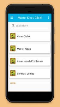 Master Kicau Ciblek Gacor screenshot 3