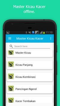 Master Kicau Kacer Unggulan apk screenshot