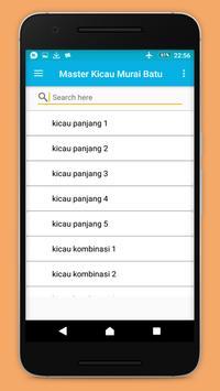 Master Kicau Murai Batu apk screenshot