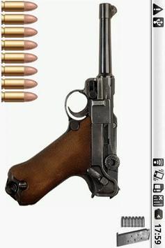 Luger P08 Gun poster