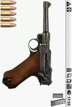 Luger P08 Gun screenshot 1