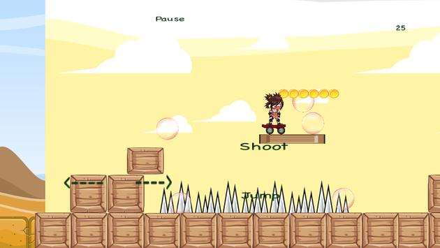 Desert Ninja- Skateboarder screenshot 3