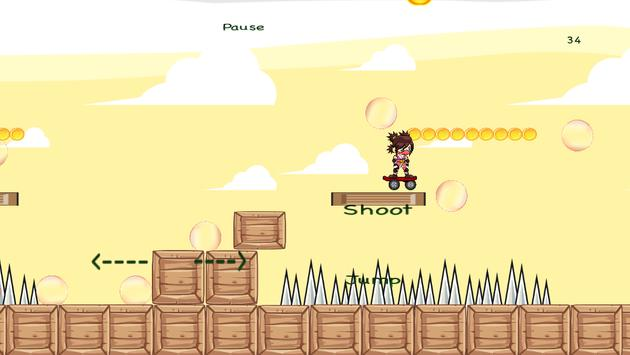 Desert Ninja- Skateboarder screenshot 10