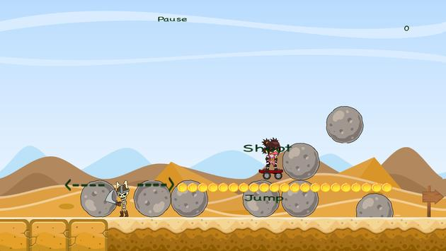 Desert Ninja- Skateboarder screenshot 7