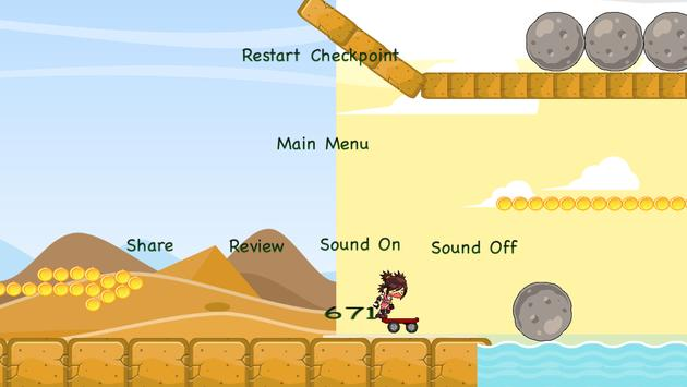 Desert Ninja- Skateboarder screenshot 5