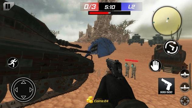 Shooting SWAT Commando:killer apk screenshot