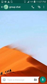 Desert Wallpapers for Chat poster