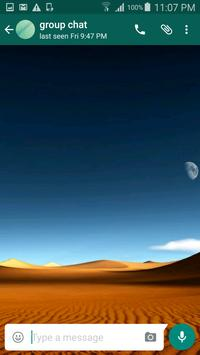 Desert Wallpapers for Chat apk screenshot