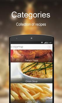 French recipe book free apk download free food drink app for french recipe book free poster forumfinder Images