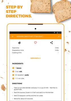 recipe book recipes shopping list apk screenshot