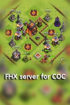 FHX server for COC apk screenshot