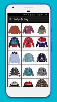 Boy Kids Sweaters 2017 apk screenshot