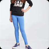 Girl leggings Design 2017 icon
