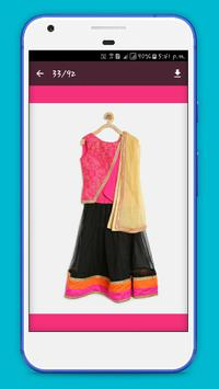 Girl Lehenga Choli Designs poster