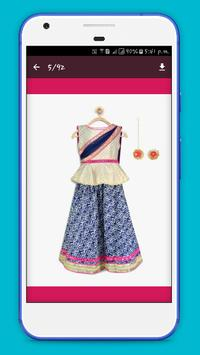 Girl Lehenga Choli Designs screenshot 2
