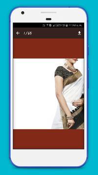Plain Saree Designs 2017 apk screenshot