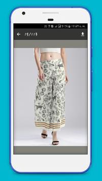 Women Palazzos Design 2017 screenshot 1