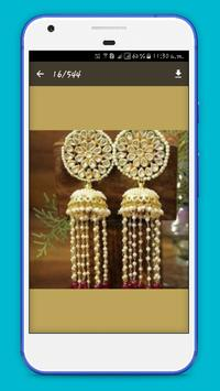 Earrings Jewellery Design 2017 screenshot 1