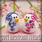 Cute Emotional Feelings icon