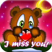 Miss You GIF & SMS 💔 Collection icon