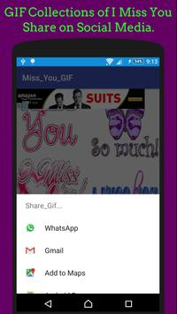 Miss You GIF & SMS 💔 Collection screenshot 7