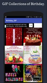 Birthday GIF🎂 Collection screenshot 4