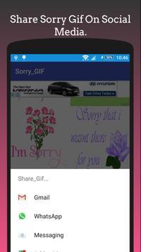 Sorry Gif Collection💗 apk screenshot