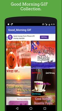 Good Morning GIF - Quotes GIF & SMS 🌞 Collection apk screenshot