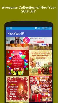 New Year Sticker GIF 2019 🎆 🎇 screenshot 1
