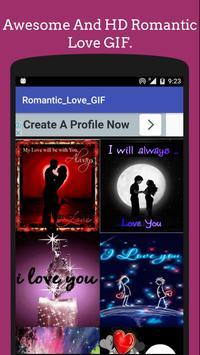 Romantic Love GIF & 💌 SMSCollection 💘 apk screenshot