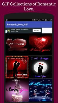 Romantic Love GIF & 💌 SMSCollection 💘 screenshot 1