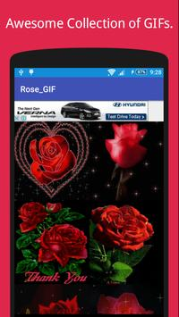 Rose GIF Collection For Rose Day 🌹 screenshot 1