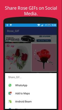 Rose GIF Collection For Rose Day 🌹 apk screenshot