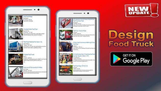 Design Food Truck poster