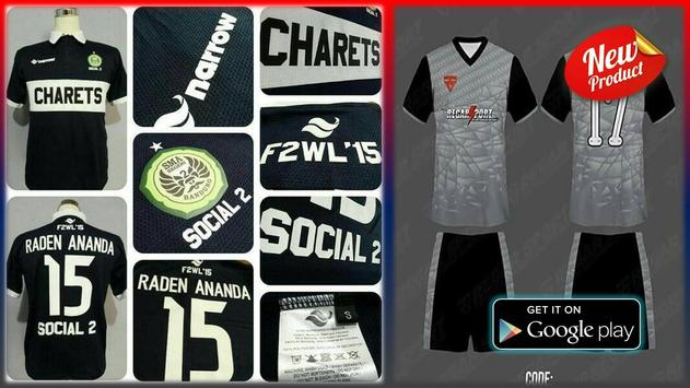 Design Futsal Clothes poster